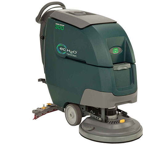 Speed Scrub 300 High Performance Walk-Behind Scrubber alt 1