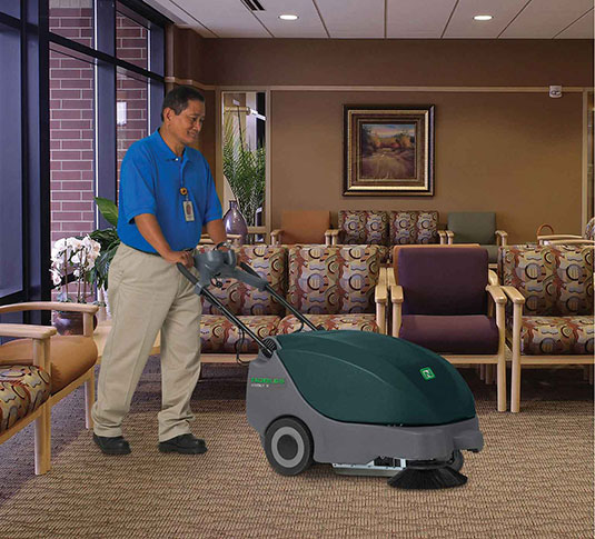 Scout 5 Compact Battery Walk-Behind Sweeper alt 9