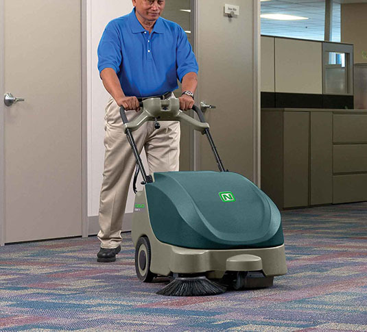 Scout 5 Compact Battery Walk-Behind Sweeper alt 4