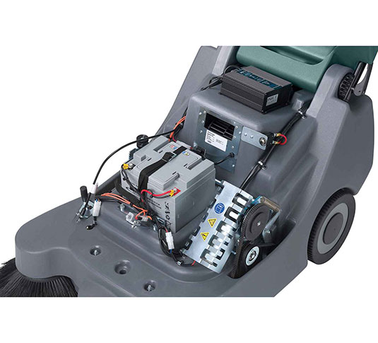 Scout 5 Compact Battery Walk-Behind Sweeper alt 6