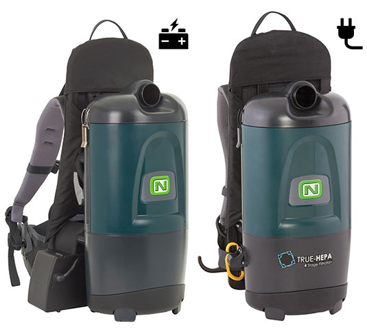 Aspen-6 / Aspen-6B Backpack Vacuums alt 1