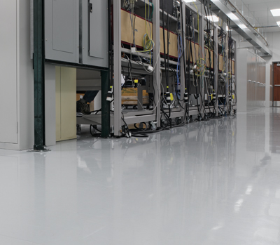 An electronics manufacturing facility