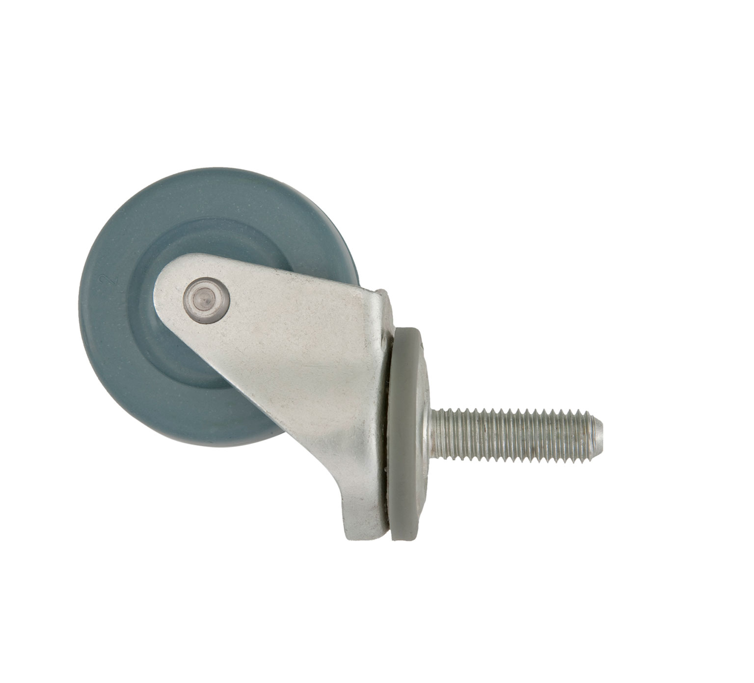 1006343 Solid TPR Swivel Caster alt 1