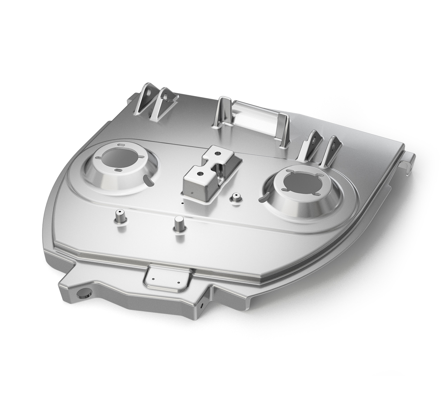 1013560 Aluminum Alloy Scrub Head Housing alt 1