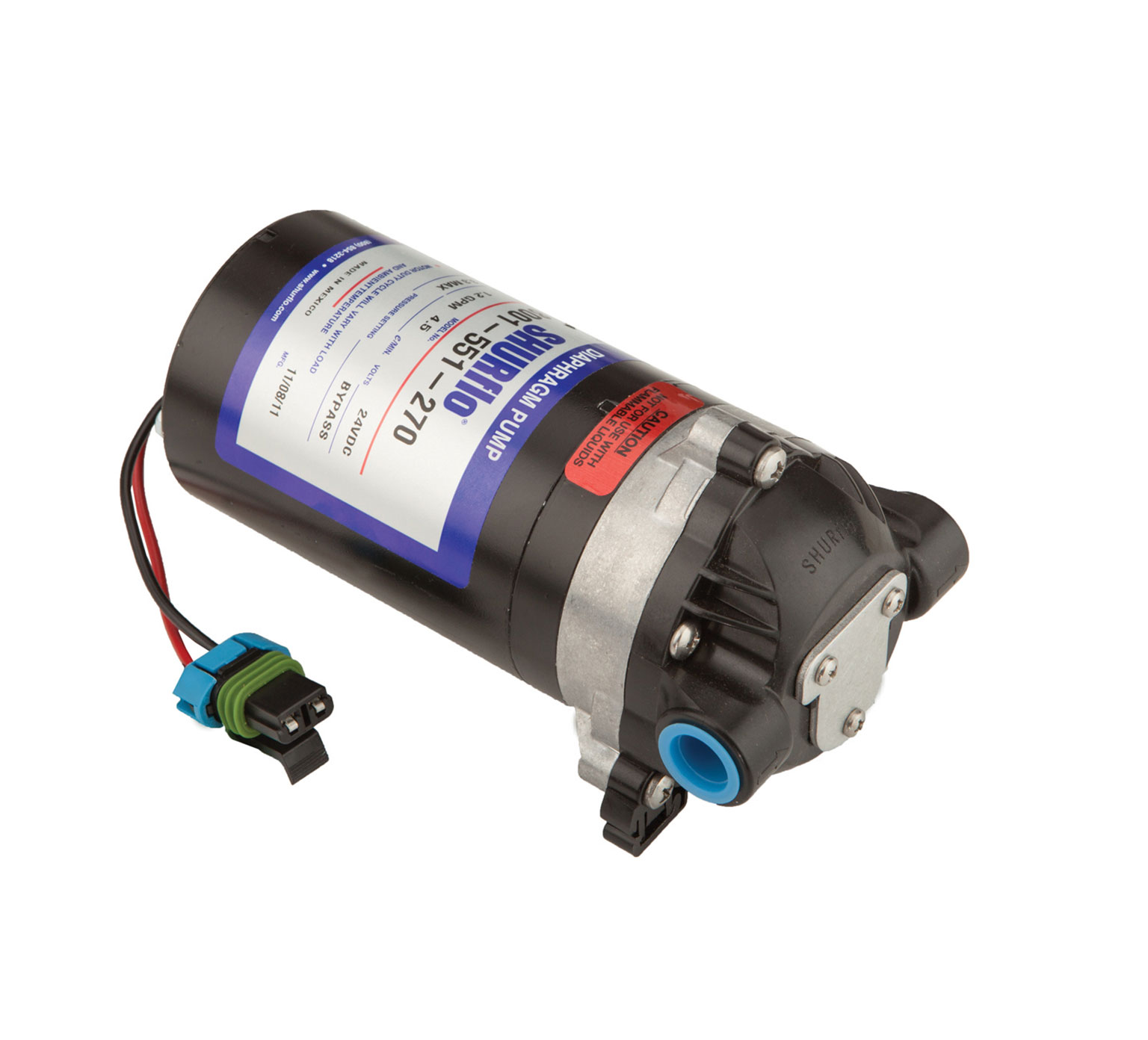 1014282 24 Volt Solution Pump alt 1