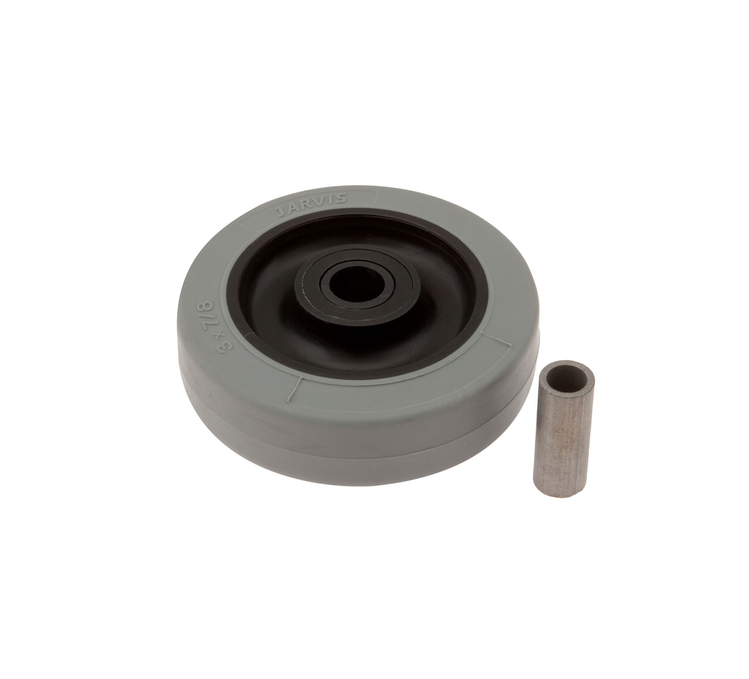 1014918AM Rubber Molded Wheel with Bushing alt 1