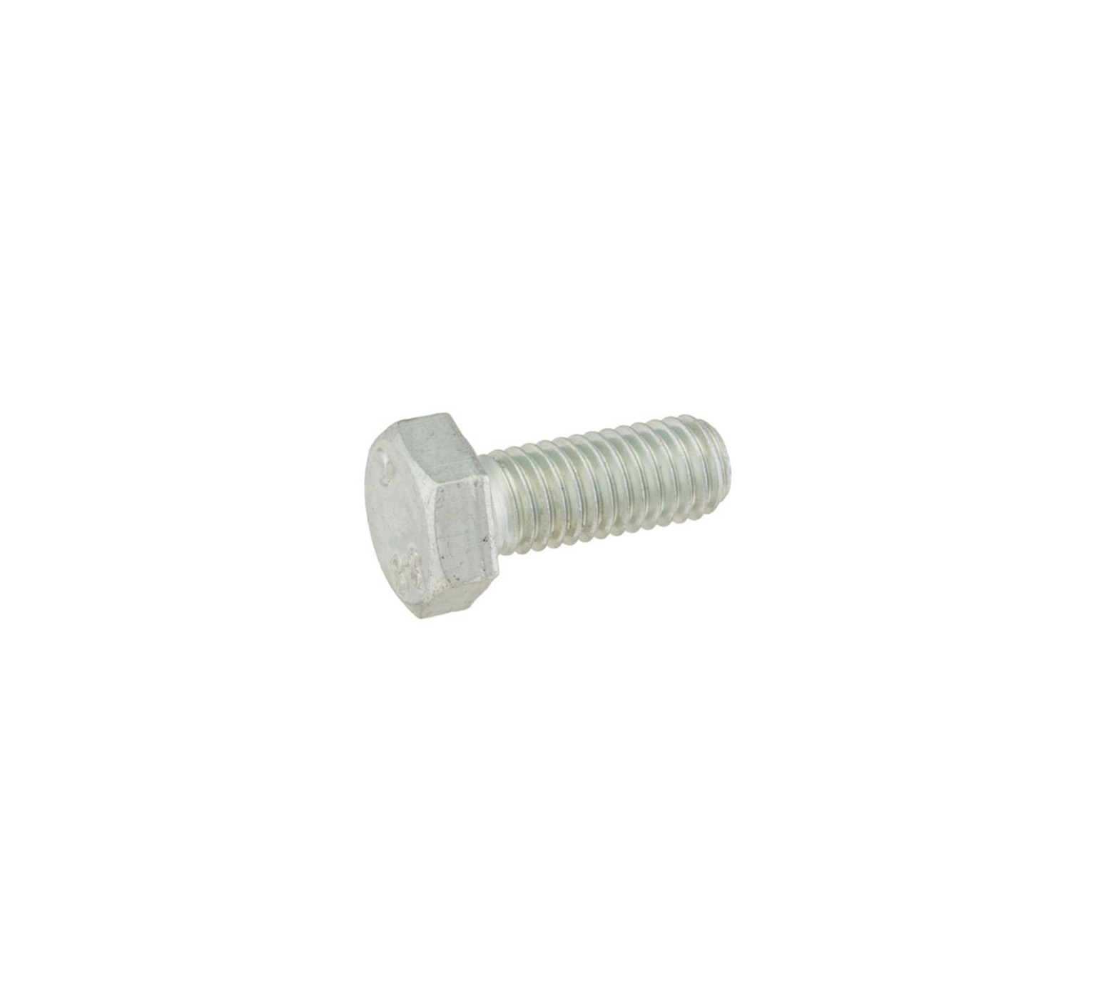 16931 Steel Hex Flat Screw - M8 Thread x 0.75 in alt 1