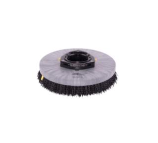 1220218 Assemblage de brosse de récurage à disque en polypropylène – 14po / 356mm alt