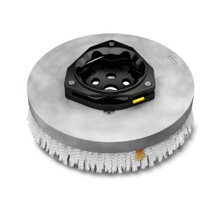 1221541 Assemblage de brosse de récurage à disque abrasive en nylon –  14po / 356mm alt