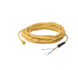 610974 Cordon d'alimentation jaune avec réducteurs de tension - 75pi / 23m alt