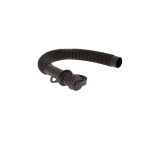 1014268 Black TPV Shore Boa Drain Hose Assembly - 1.5 x 27 in alt