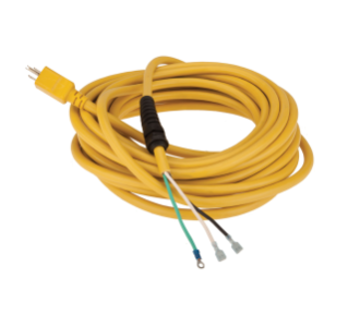 602747 Yellow Power Cord - 50 ft alt